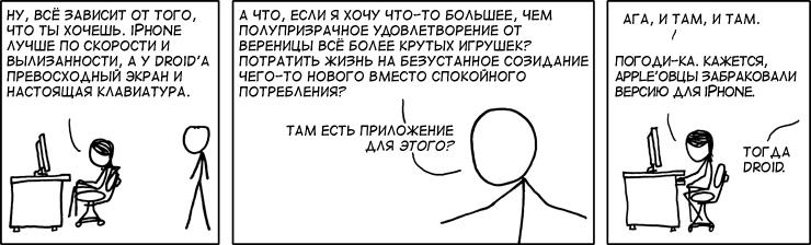 iPhone или Droid