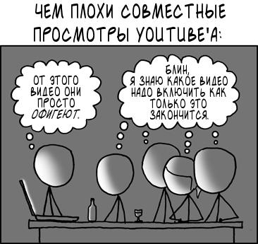 Совместный просмотр youtube'а